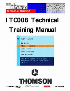 Thomson Itc008 Technical Training Pdf Thompson Itc008