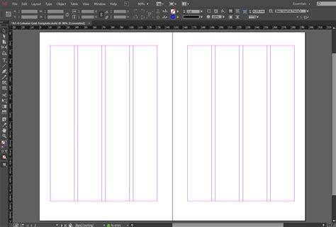 grid template columns free indesign a5 4 column grid template crs indesign templates
