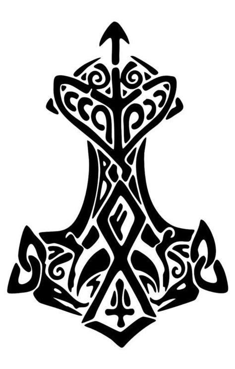 $4.99 - Viking Thors Hammer Thunder Decal Sticker Norse Asatru Mjolnir #ebay #Electronics