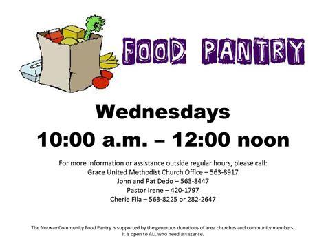 Food Pantry Hours Food Pantry Hours