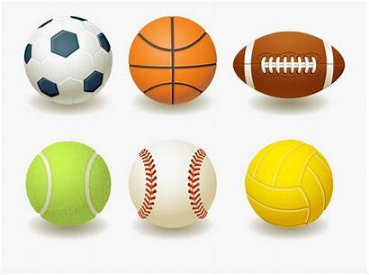 Sports Balls Clipart Clip Ball Kinds Cartoon