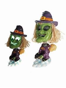 Halloween Deko Kaufen : lustige hexe mit farbwechsel halloween party deko bunt 17cm ~ Michelbontemps.com Haus und Dekorationen