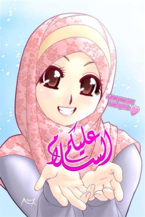 anime islami terbaru gambar kartun jepang wanita lucu car interior design
