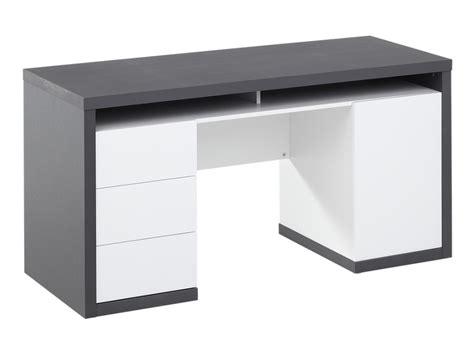 bureau gris bureau blanc gris