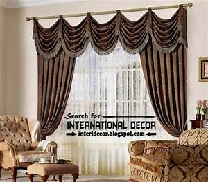 Top trends living room curtain styles colors and materials for Modern curtains designs 2012