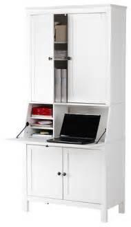 hemnes secretary with add on unit white modern desks