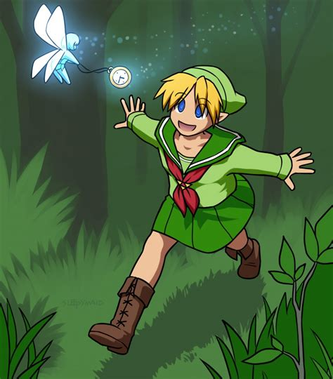 Blonde Hair Blue Eyes Boots Crossdressing Elf Ears Fairy