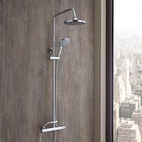 miscelatore termostatico doccia funzionamento colonna doccia regolabile completa di miscelatore