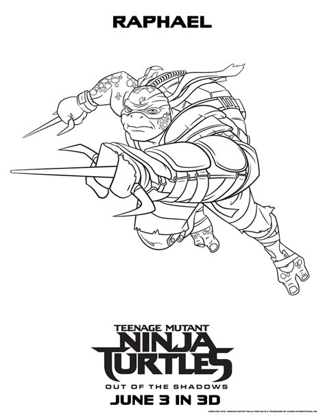 New Tmnt 2019 Movie Coloring Pages Get Coloring Pages
