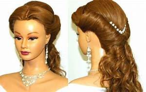 Wedding Prom Hairstyle For Long Hair YouTube