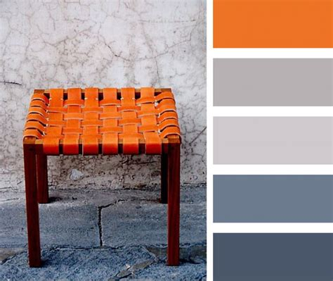 what color goes with orange what color furniture goes with orange walls home decor