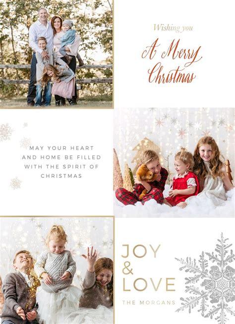 merry christmas photo card template christmas card