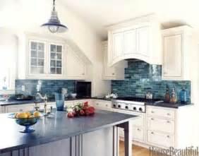 blue backsplash kitchen 32 amazing inspired kitchen designs digsdigs