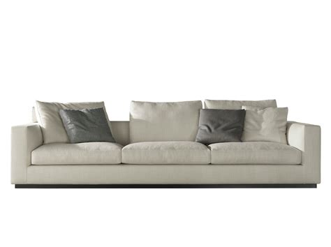 canape minotti andersen line canapé 4 places by minotti