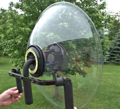 article review  wildtronics parabolic microphone dishes