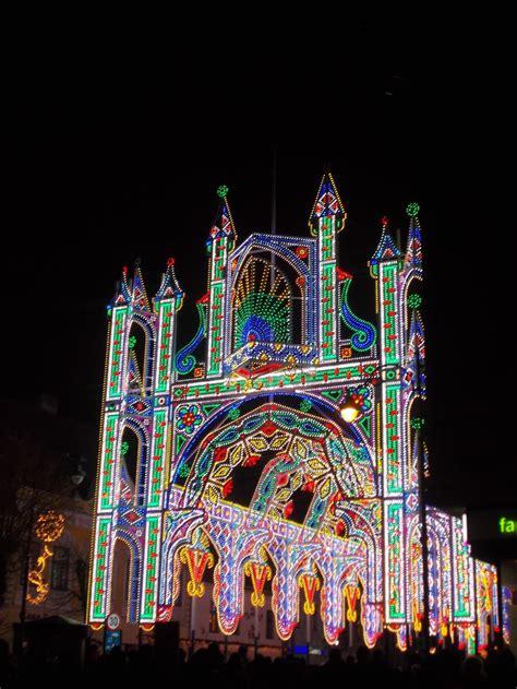 sibiu romania sibiu lights   festival bored