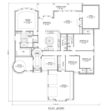 4 bedroom floor plans 2 4 bedroom 2 house plans on house plans 2400