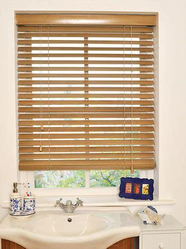 english oak wooden blind mm slat home  living