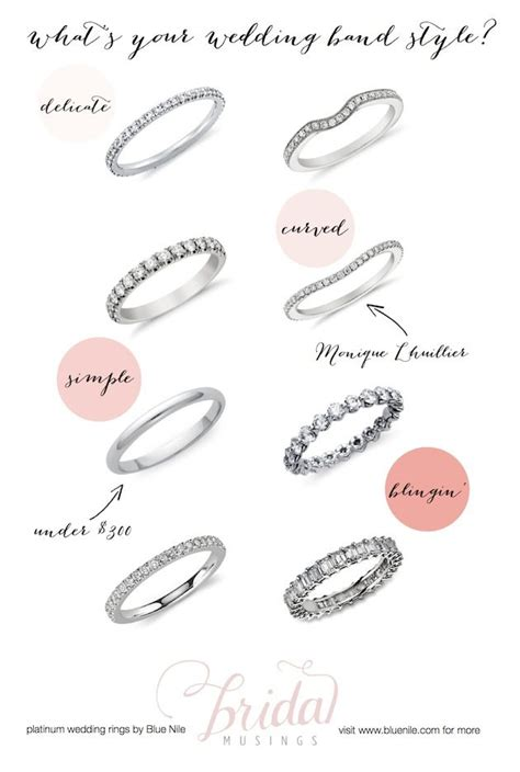 platinum wedding rings  blue nile whats  wedding