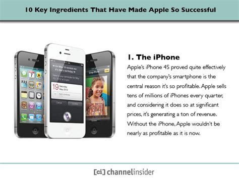why is the iphone so popular 10 key ingredients that made apple so successful