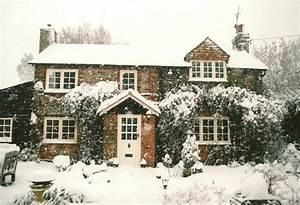 cottage, cute, house, pretty, snow