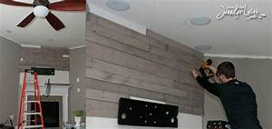 Wood Pallet Wall Living Room Wood Pallets Project Home