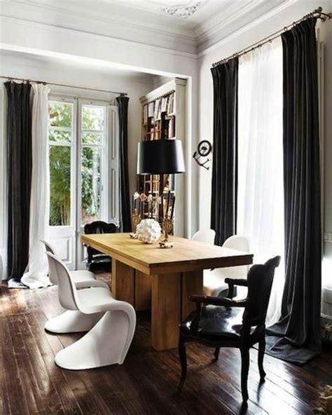 emejing salon noir avec rideau emejing salon avec rideau noir pictures lalawgroup us