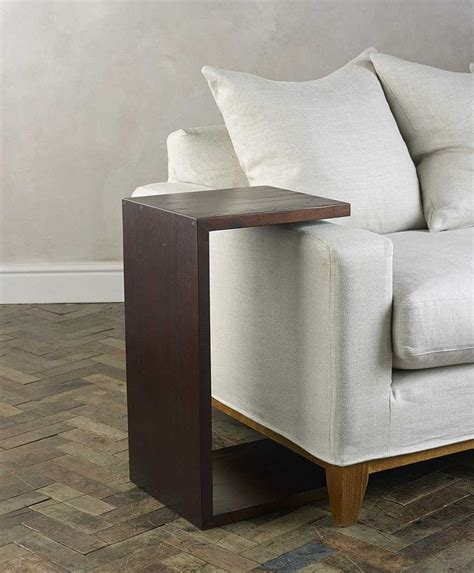 side table  couch arm rests design features sofa arm table sofa side table