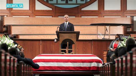 presidents attend  funeral  john
