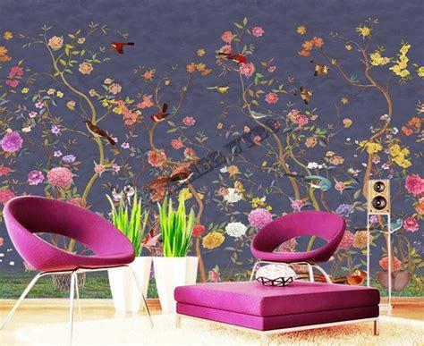 Tapisserie Fleurs by Papier Peint Floral Personnalis 233 Tapisserie Num 233 Rique Zen