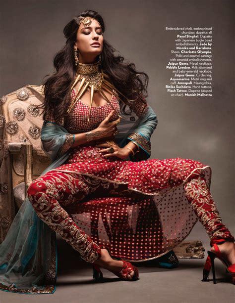 lisa haydon   sexy modern indian bride  vogue india