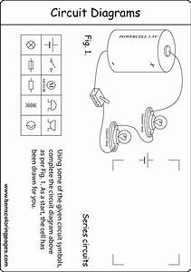 series circuit diagram handout for kids With schematic circuit diagrams in addition electrical schematic diagram