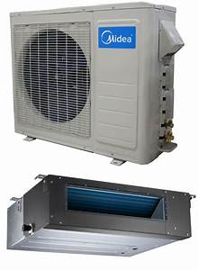 Manual And Guide For Midea 24000 Btu 20 Seer Dlcsra Single