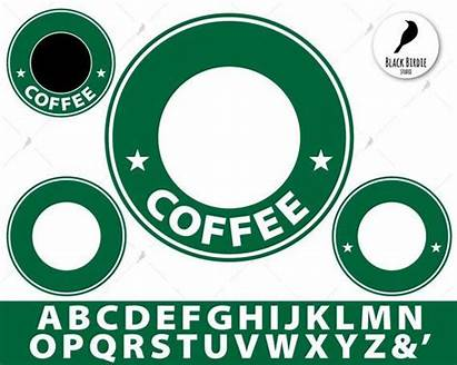 Starbucks Cricut Svg Coffee Template Clipart Frame