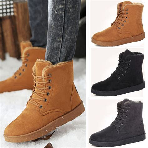 High Quality Fashion Men Winter Warm Short Snow Boots