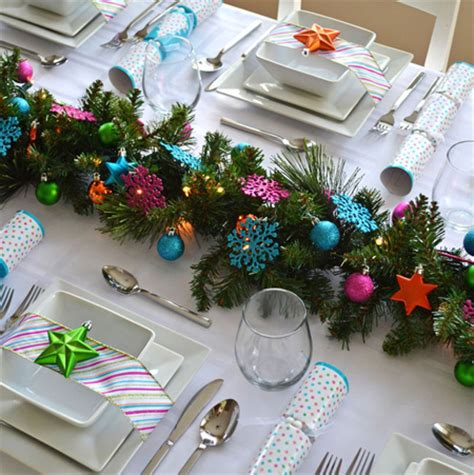 ideas for christmas decorting for south africa at school home dzine home decor decorate the dining table