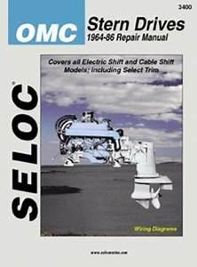 Seloc Omc Stern Drive Boat Engine Repair Manual 1964