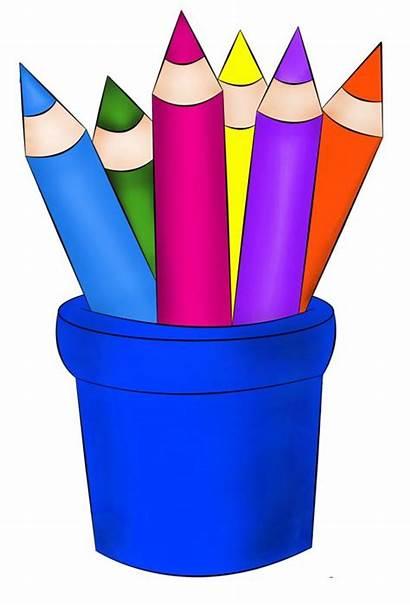 Crayons Clipart Crayon Clip Pencil Pencils Cartoon