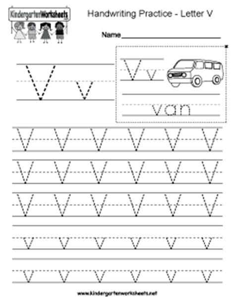 letter v worksheets free kindergarten writing worksheets learning to write 51793