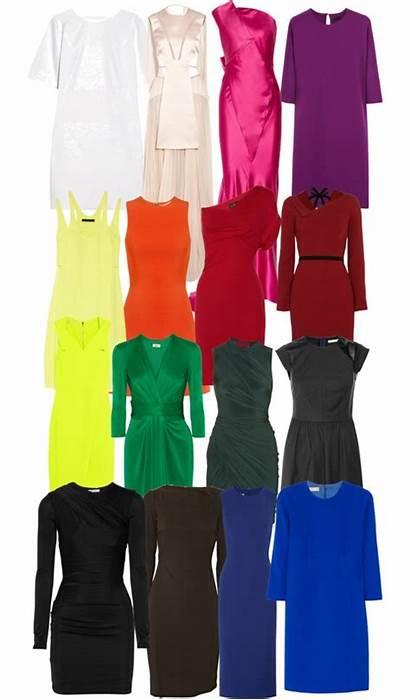 Winter Deep Palette Colors Polyvore Analysis Clothes