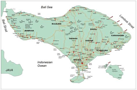 bali weather forecast  bali map info details bali road