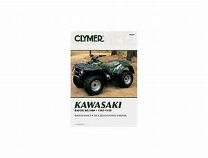 Kawasaki Klf 400 B1-b7 Bayou 93-99 Manual Clymer Parts At Wemoto