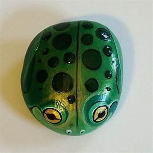 Pintado a mano pequeño Critter Rock! Pintadas en rocas del ...