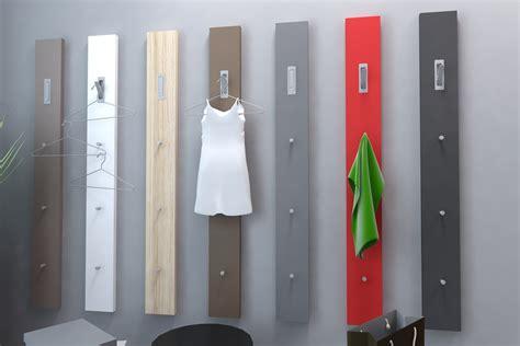appendiabiti da ingresso a parete appendiabiti moderno ciao guardaroba in 6 colori per entrata