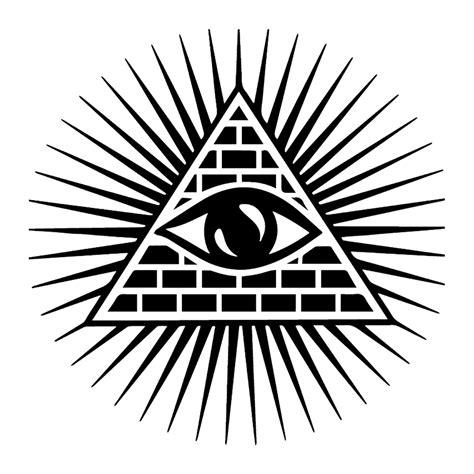 shining triangle   eye car auto window vinyl decal
