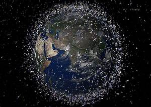 space debris satellite ESA | Neogeography