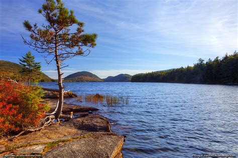 Eagle Lake Photos Acadia National Park Set 1