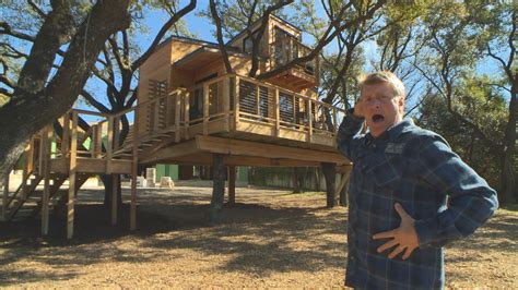 build city sleeker treehouse treehouse masters animal planet