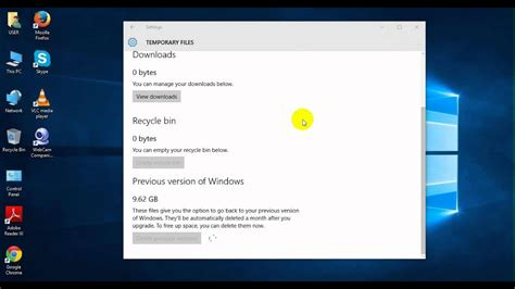 How To Delete Windows.old Folder And Files (windows 10