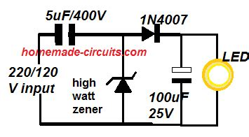 High Current Zener Diode Datasheet Application Circuit